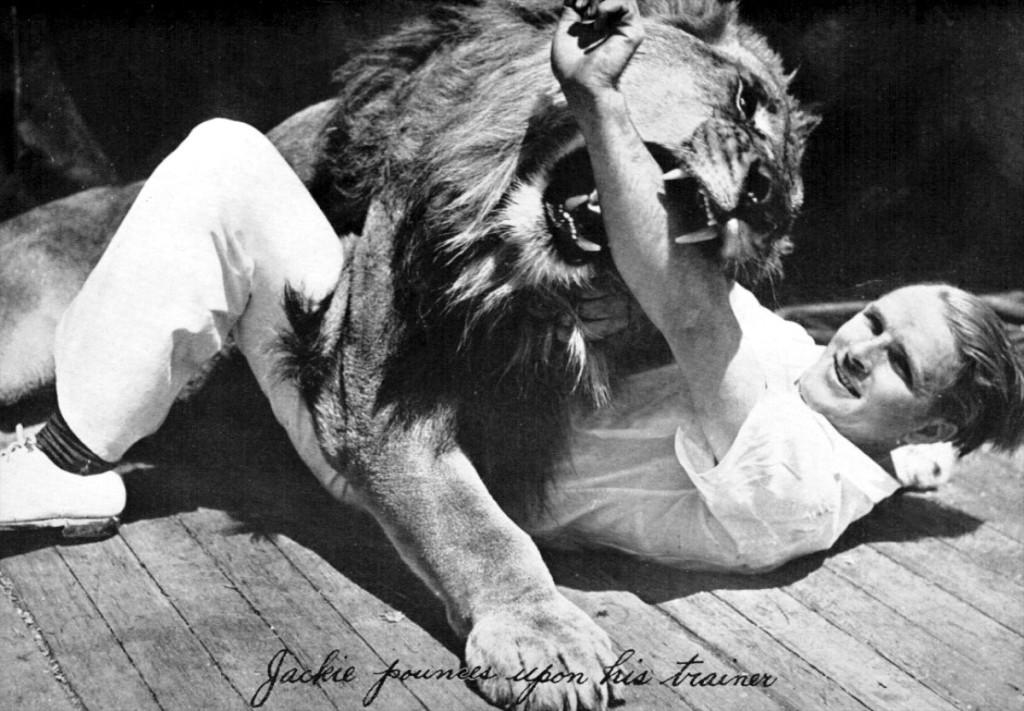 MGM aslanı ve terbiyecisi